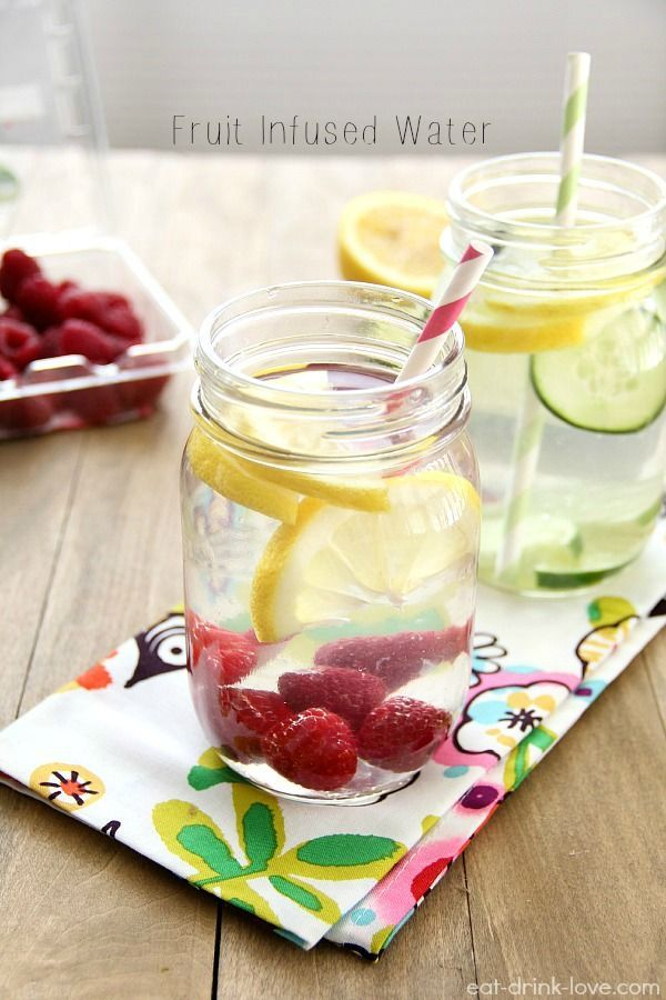 Fruit Infused Water recipe ideas – all-natural, no sugars, and no dyes necessary…