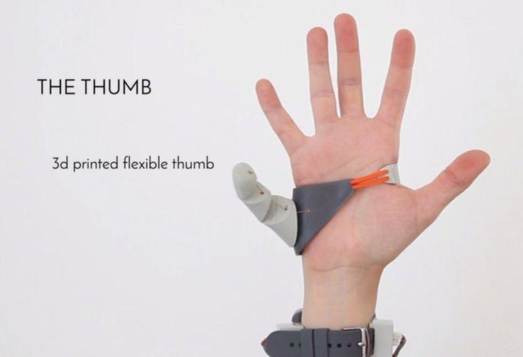 Mennesker med dårlig grovmotorik siges at have ti tommelfingre. Det kan du ikke få med Dani Clodes Third Thumb Project, men du kan få en ekstra tommelfinger på hver hånd, så du altså har seks fingre på én hånd. Clode er studerende ved Royal College of Art i London, og har lavet en 3D-printet, ekstra …