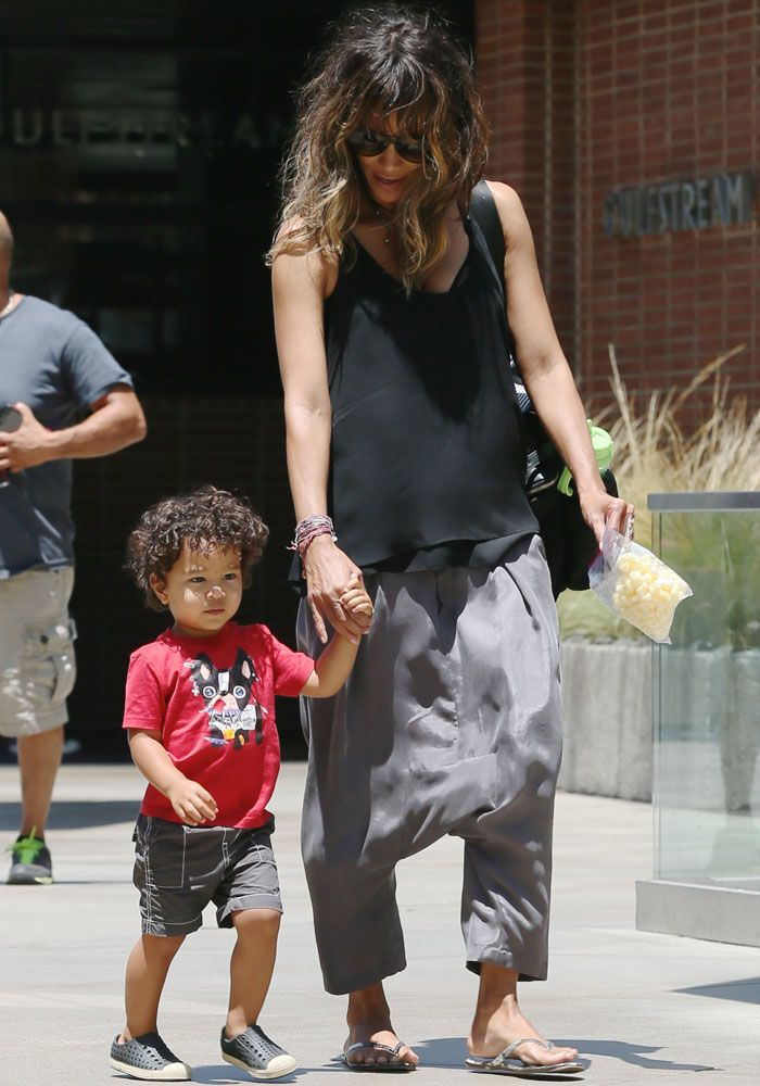 Halle Berry Enjoys a Day With Her Son in TKEES Sandals Amidst Impending Third Divorce