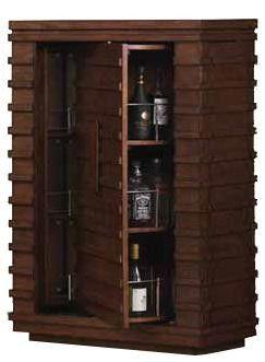 Bristol Walnut Armoire Bar