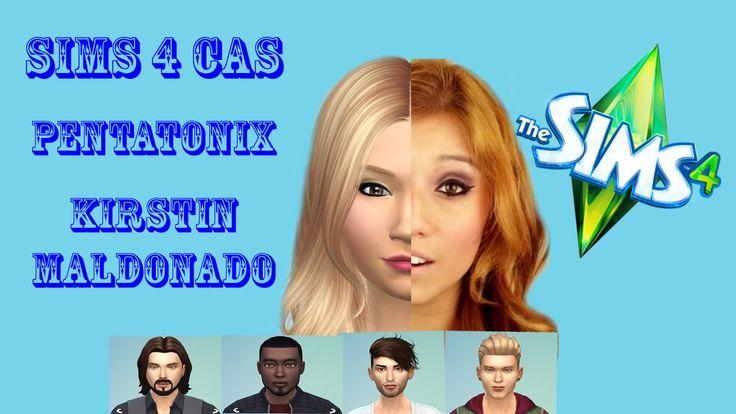 Sims 4 CAS - Pentatonix - Kirstin Maldonado
