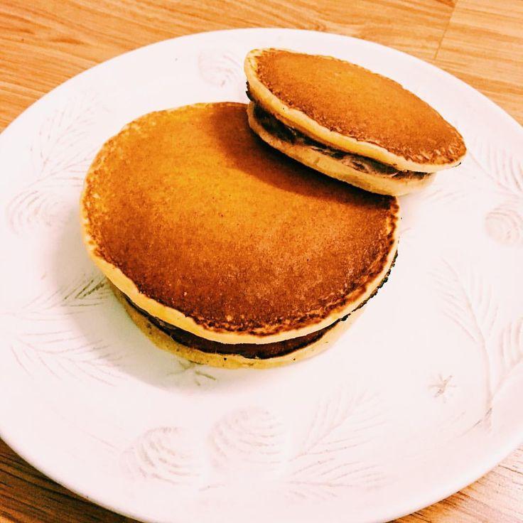 いいね!34件、コメント5件 ― T R U N Gさん(@justabakaholic)のInstagramアカウント: 「#homemade #japanese #doraemon #alltimefavorite #dorayaki #anzu #azukibeans #redbeanpaste #stuffed…」