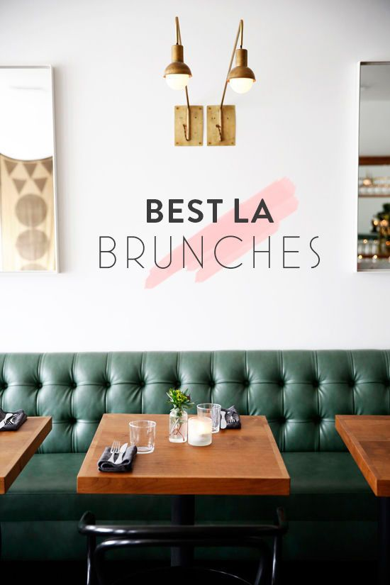 Best Los Angeles Brunches