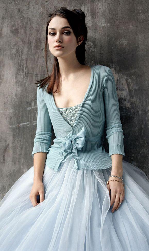 Kiera Knightley   Tulle in Blue