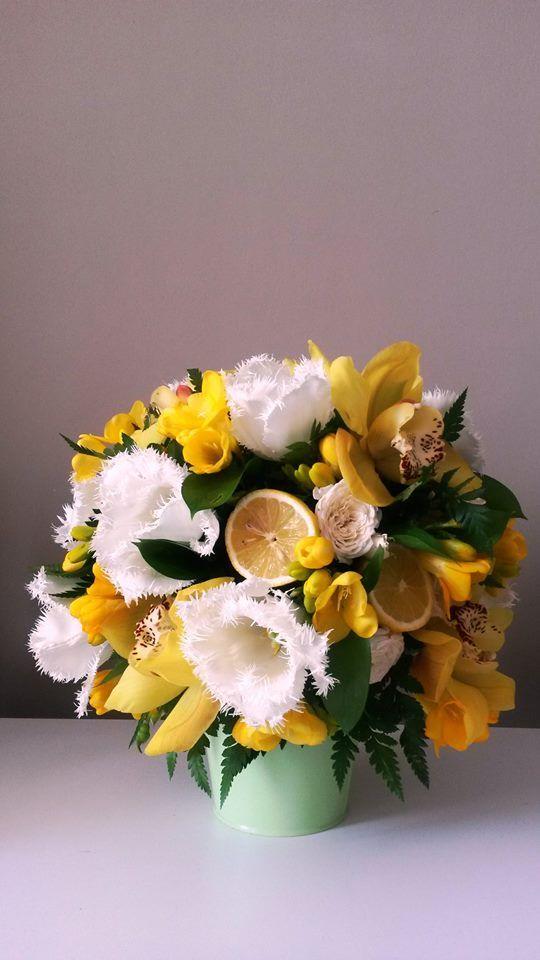 #yellow, lemon, wedding arrangements
