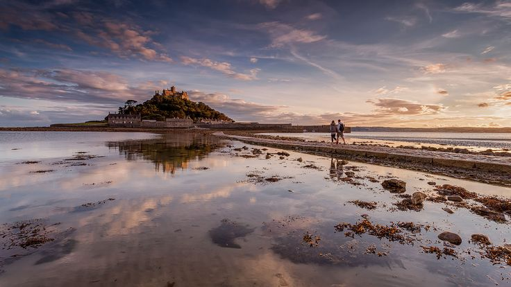 St Michaels Mount, Marazion in Cornwall UK. See it on Wikimedia Commons here: http://buff.ly/2cEvgVq