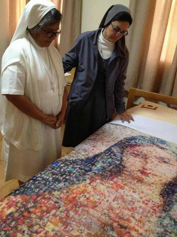 This Marian picture of The Virgin Mary suddenly appeared on the cloth which was on thebedof Sr. Aleksandra…  According to reports this picture suddenly appeared on the cloth which was on the bed of Sr. Aleksandra who is a Religious Nun in Addis ababa. It happened on 9th, January 2017 at 1.00 pm. One … Read More Read More