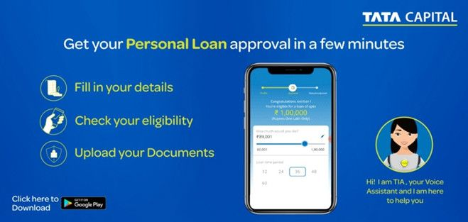 Tata Capital Tia Ai Powered Voicebot For Personal Loans Personal Loans World Business News Business News Today