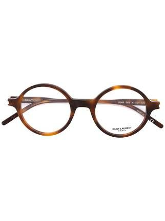 Saint Laurent lunette de vue à monture ronde