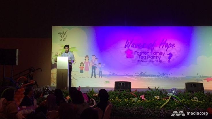 Currently, there are 350 foster children and 337 foster parents registered under the Fostering Scheme for children below the age of 18. The Ministry of Social and Family Development is hoping to reach the target of 500 parents, says Minister Tan Chuan-Jin.