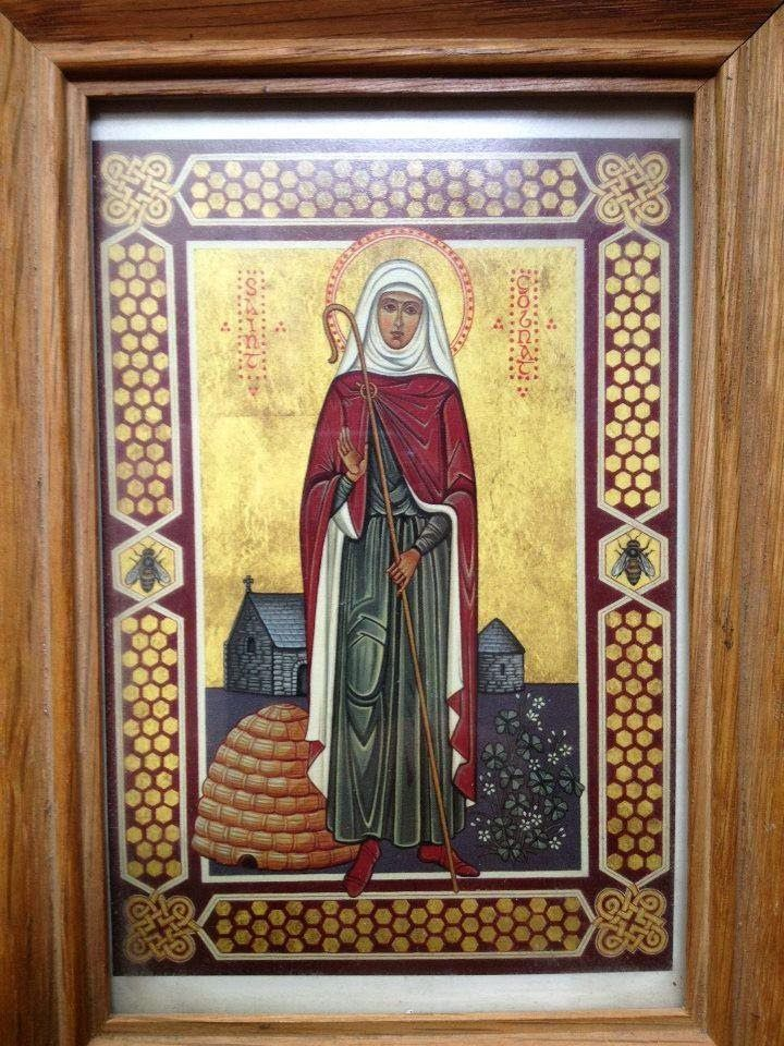 st. gobnait   Orthodox Patron Saints   Honey bees   Patron ...