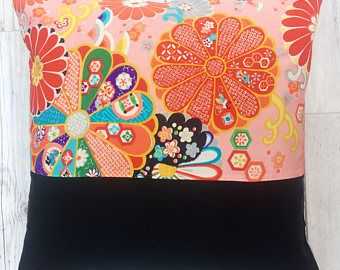 Decorative Japanese Silk Handmade Cushion cover