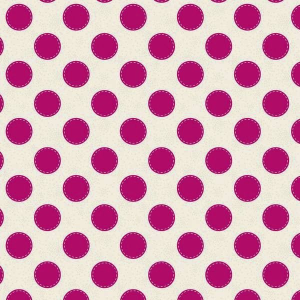Tilda Sweetheart Fat Quarter Fabric -Sewn Spot Carmine Red - Tilda Sweetheart - Tilda Collections - Tilda Crafts