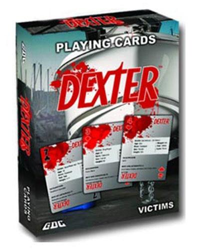 Baraja de cartas de Dexter