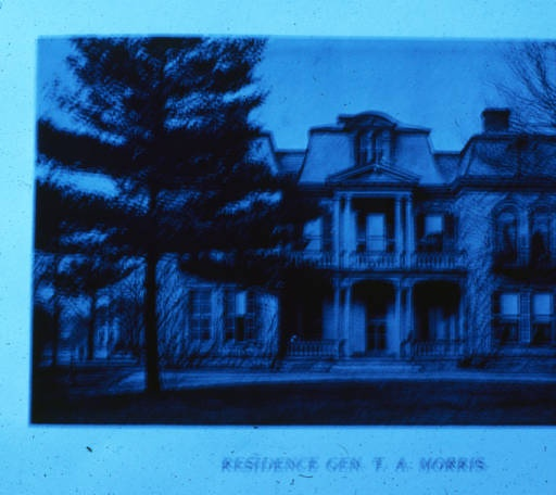 @Gwendolen Raley - John's brother's home1204 N. New Jersey St., Gen. Thomas A. Morris House, 1889 :: Indianapolis Historic Preservation Commission Image Collection