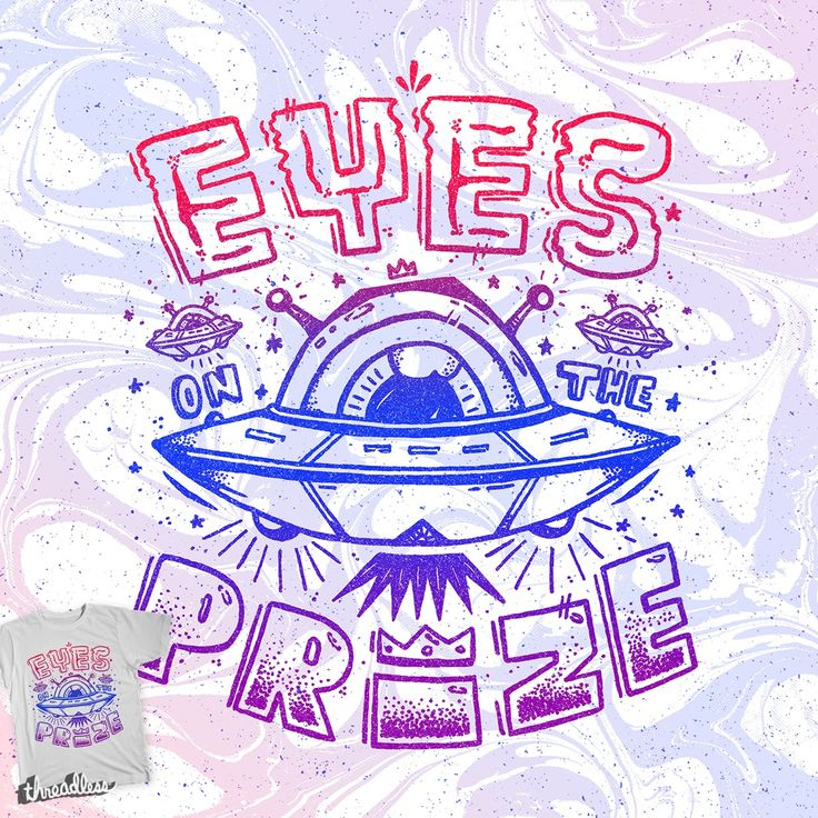 Vote for my new design Eyes On The Prize (Alien Abduction) on Threadless