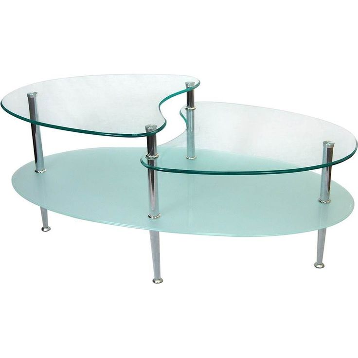 "Walker Edison - Mariner 38"" Oval Coffee Table"