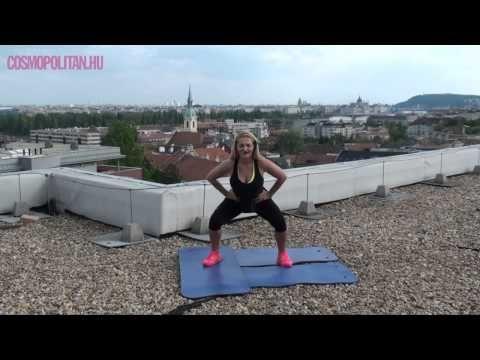 Cosmo Bikini Boot Camp - Formás láb edzés - YouTube