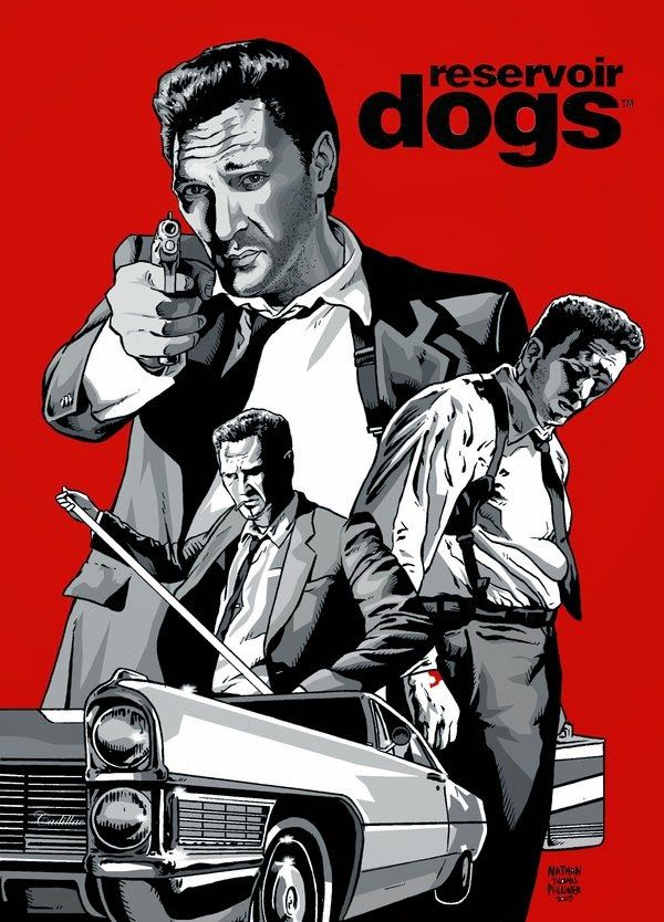 a report on reservoir dogs a film by quentin tarantino Report give gold reply  from reservoir dogs and vincent vega (john travolta) from pulp fiction are brothers  if quentin tarantino exists in his own film .