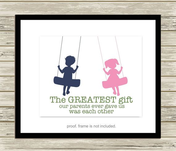 19 best Siblings room wall art, brother and sister wall art, photo ...