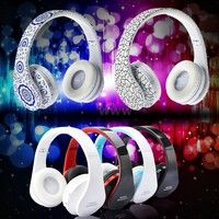 Mama | Foldable Wireless Bluetooth Stereo Headset Handsfree Headphones Mic for iPhone iPad PC V650