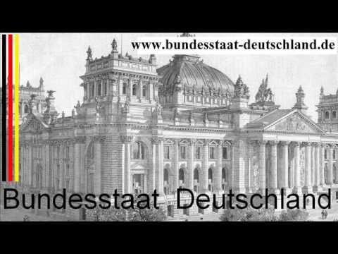 Bundesstaat-Deutschland.de Nationalhymne mit Liedtext gesungen - VV Verf...