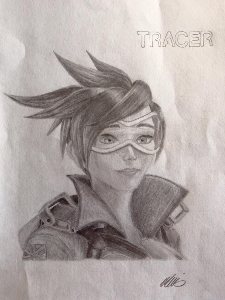 Overwatch-Tracer drawing