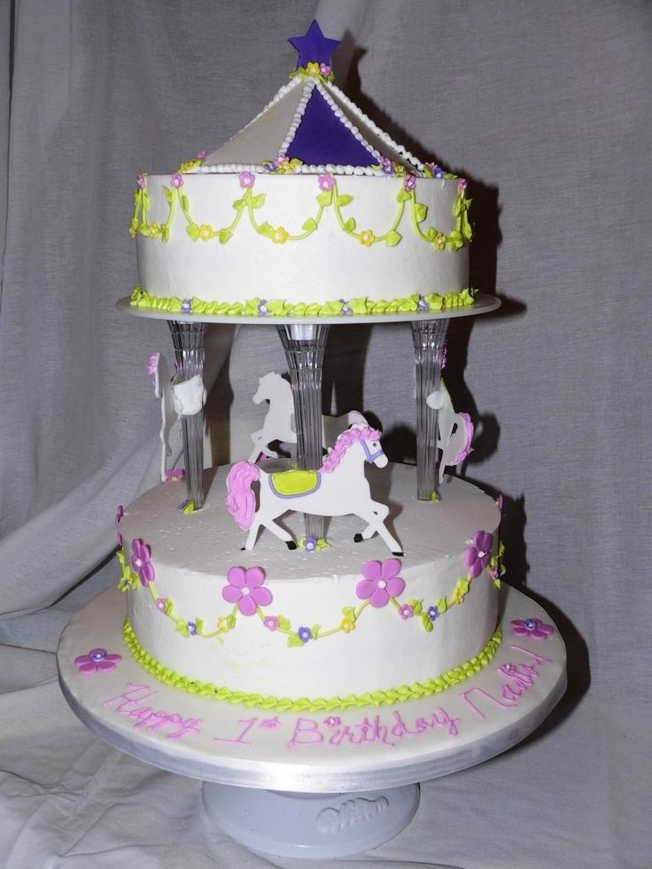 17 Best images about carousel cakes on Pinterest Wilton ...