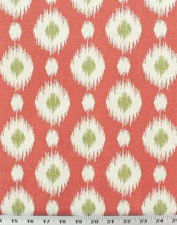 Drapery Fabric Upholstery Fabric Ikat Fabric by EnglesideManor