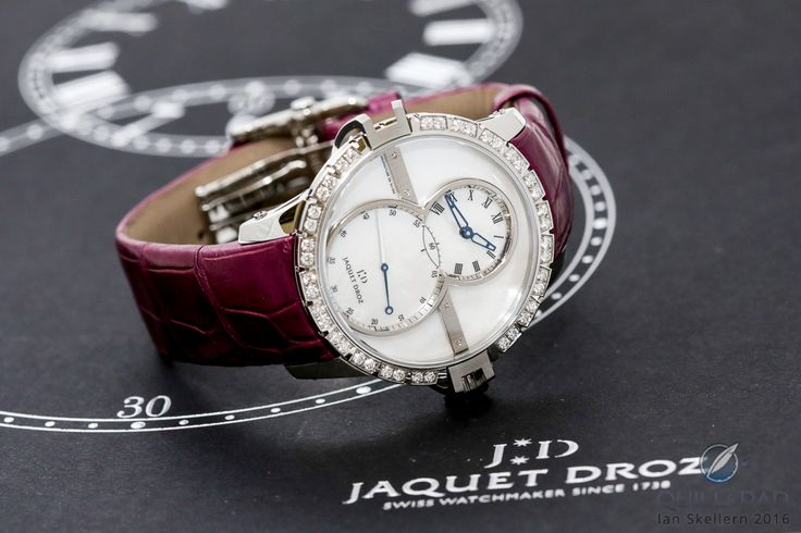 Jaquet Droz Grande Seconde SW Lady: Fresh And Sporty