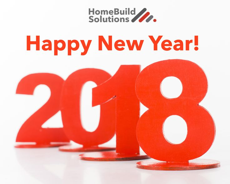 Happy New Year from the HomeBuild Solutions family!