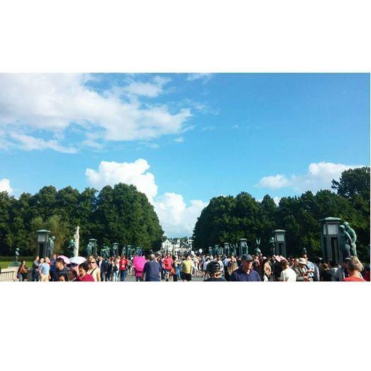 Vigeland Parken, Oslo #VigelandPark #Norway #VisitOslo