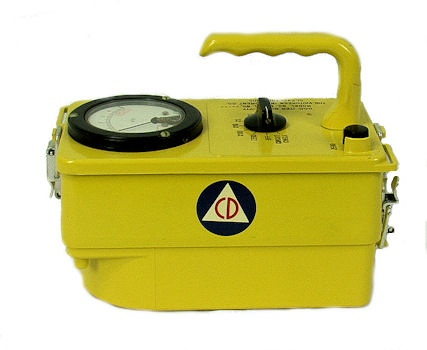 Cold War History ~ Civil Defense Geiger Counter