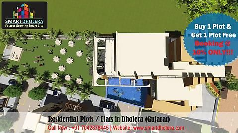 Offer !! Offer !!  Offer  !! Best deals for your Future. Buy  1 Plot  & Get 1 Free. Double your Investment by investing in residential Plots at  Dholera.Project located at Prime location.