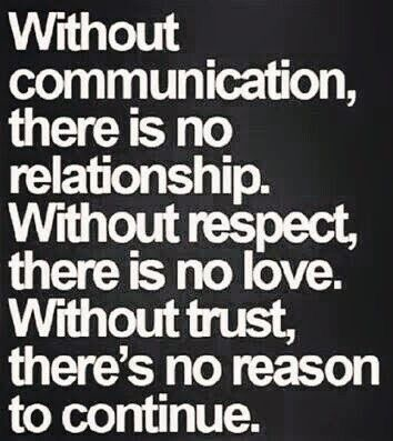 No communication, you're secretive. No respect, you've belittled and talked down to me. No trust, you lie looking me steight in the eye.       Once upon a time, I would have stood against all odds next to you... but you've shown me every reason why I shouldn't.