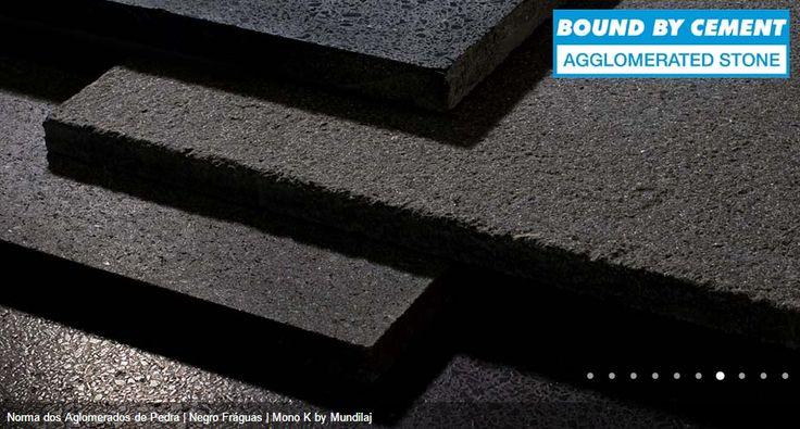 Diferentes texturas de aglomerados de Pedra na cor Negro Fráguas Comprar em: www.pimacon.pt | telefone - 252 990 440 | Landim VNF | Portugal