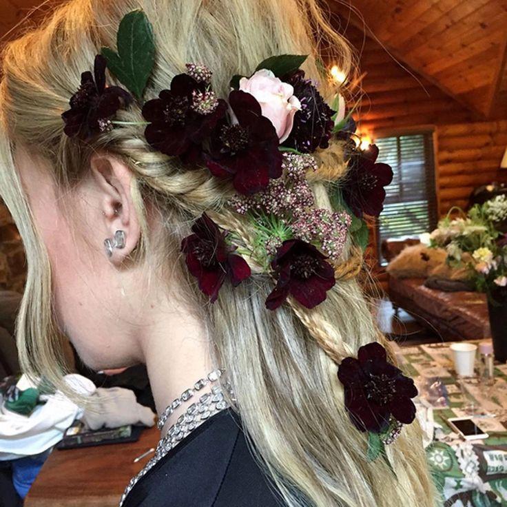 Zosia Mamet wedding hair
