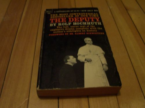 The Deputy by Rolf Hochhuth #1963 #Paperback #Book  | #eBay #vintage #softcover #TeamFollowBack #Nonfiction