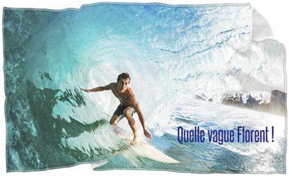 Fan d'un sportif ou sportif vous même ! Offrez vous une serviette de bain ou de plage personnalisée avec la photo de votre choix.