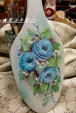Image Only! Blue roses