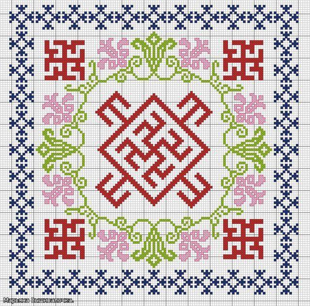 схема с лилиями ,Одолень травой,Духобором,Целебником для девочек на исцеление