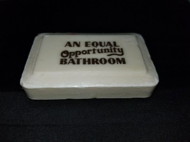 """Vintage Bar of Soap """"An Equal Opportunity Bathroom"""" Sealed New in Package Skin 