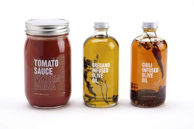 Packaging design for Pizzeria Farina  Glasfurd and Walker, 2011