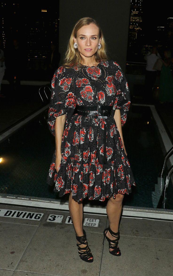 Mode : le marathon du style de Diane Kruger | Glamour