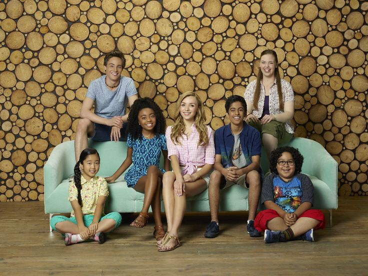 "BUNK'D - Disney Channel's ""Bunk'd"" stars Nina Lu as Tiffany, Kevin G. Quinn as Xander, Skai Jackson as Zuri, Peyton List as Emma, Karan Brar as Ravi, Miranda May as Lou and Nathan Arenas as Jorge. (Disney Channel/Bob D'Amico)"
