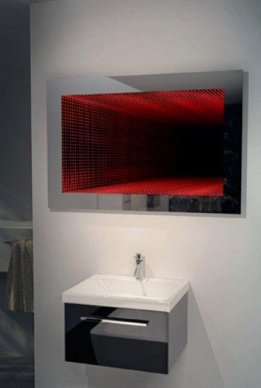 Simple kLRGB LED Infinity Colour Change Hmm x Wmm x Dmm Illuminated Mirrors