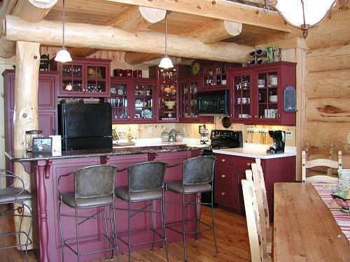 pictures of log home kitchens the fun times guide to log homes
