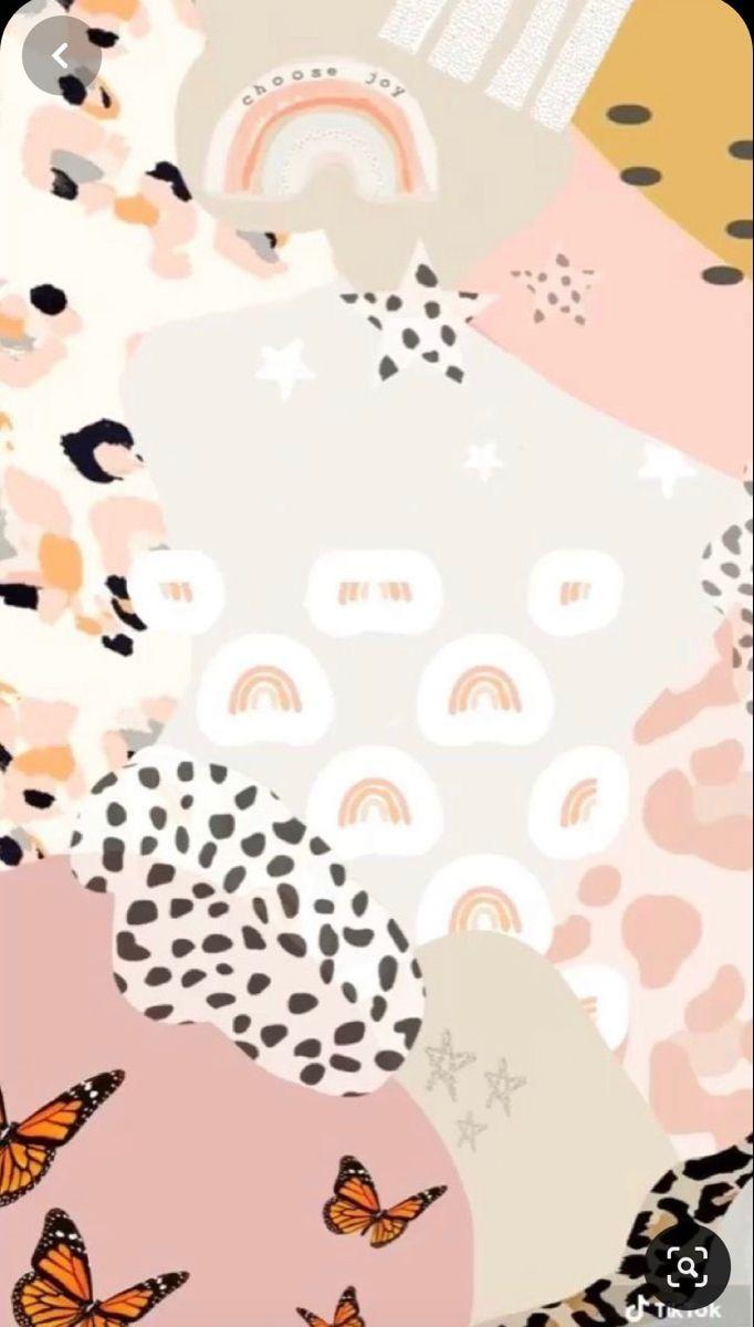 Pin By Kierstinlee On Aesthetic Phone Wallpaper Patterns Cute Patterns Wallpaper Boho Wallpaper