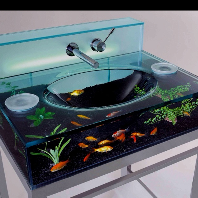 I want! so impractical (how the eff do you clean it?) but so cool