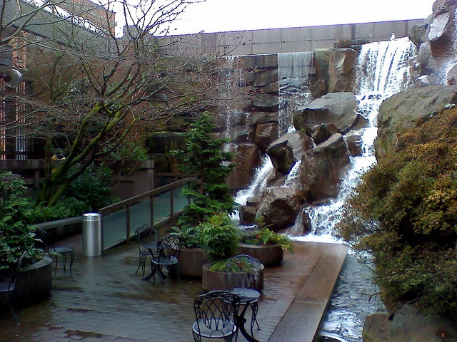 1000 images about urban waterfalls on pinterest north for Urban waterfall design